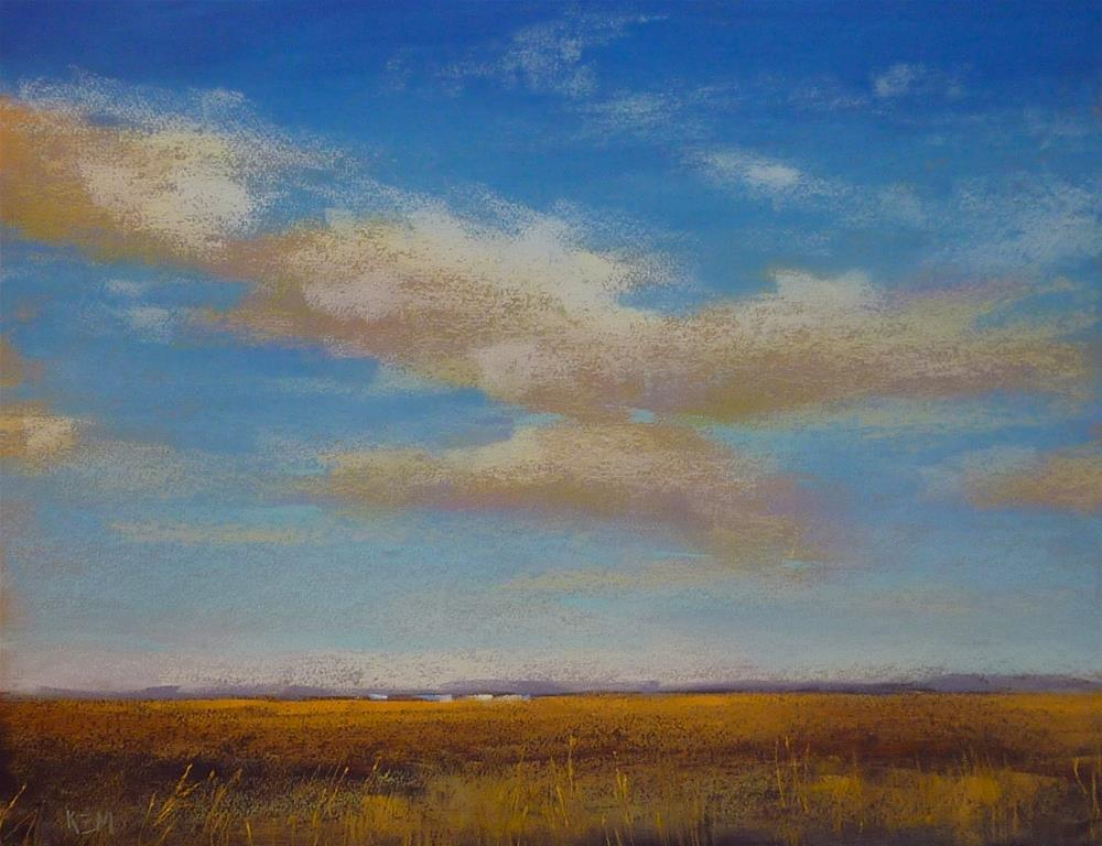 """""""Great Tip for Unfinished Pastel Paintings"""" original fine art by Karen Margulis"""