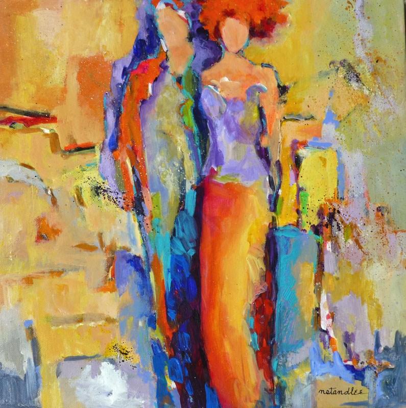 """Mystery Shadows 13040"" original fine art by Nancy Standlee"