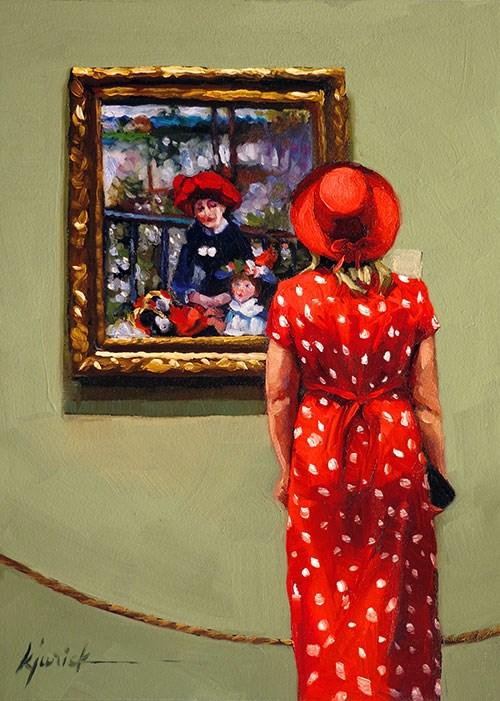 """Red Heads"" original fine art by Karin Jurick"