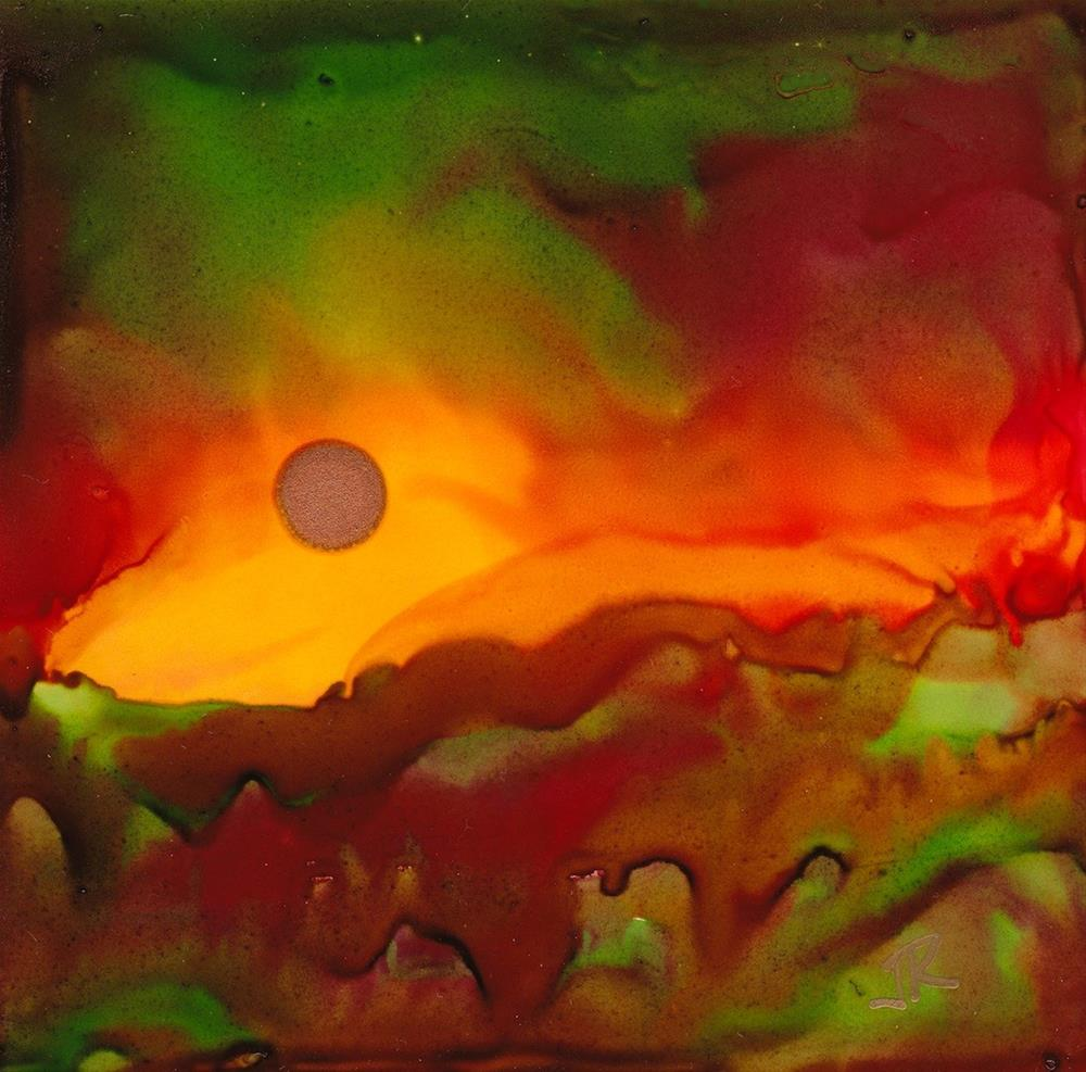 """Dreamscape No. 389"" original fine art by June Rollins"