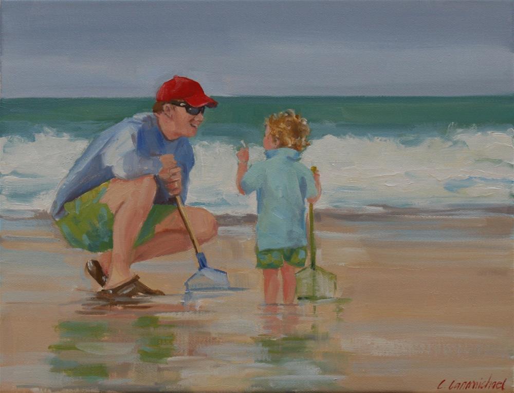 """""""sophie's two"""" original fine art by Carol Carmichael"""