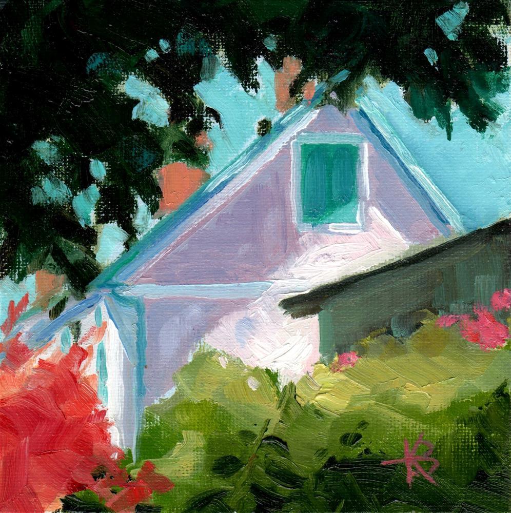 """Howard's House #3"" original fine art by Kathy Bodamer"