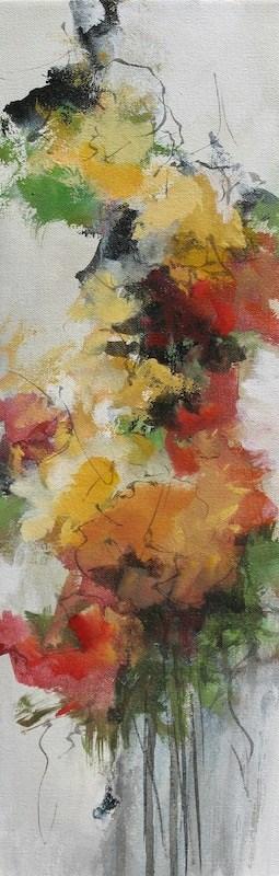 """""""Fall Flowers"""" original fine art by Karen Hale"""