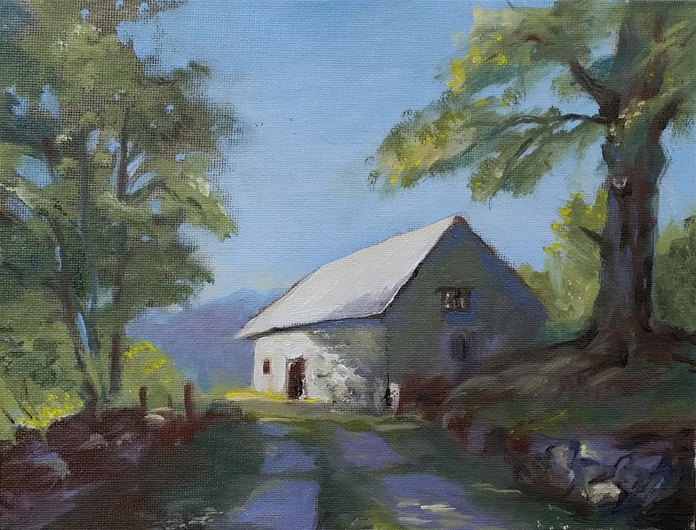 """""""Crest of the Hill"""" original fine art by Catherine Kauffman"""