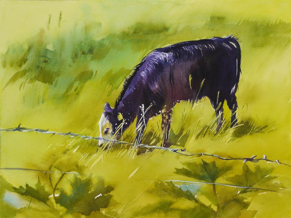 """after rain 1"" original fine art by Beata Musial-Tomaszewska"