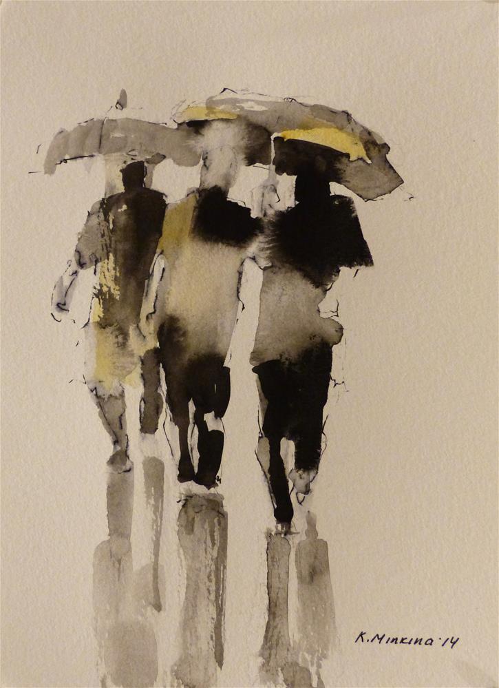 """urban31"" original fine art by Katya Minkina"