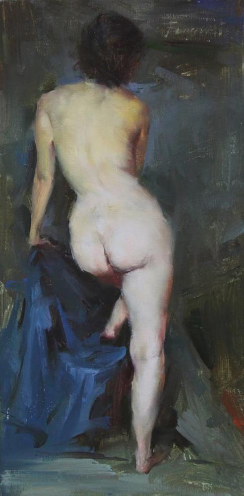 """""""Figure Series 12-02"""" original fine art by Fongwei Liu"""