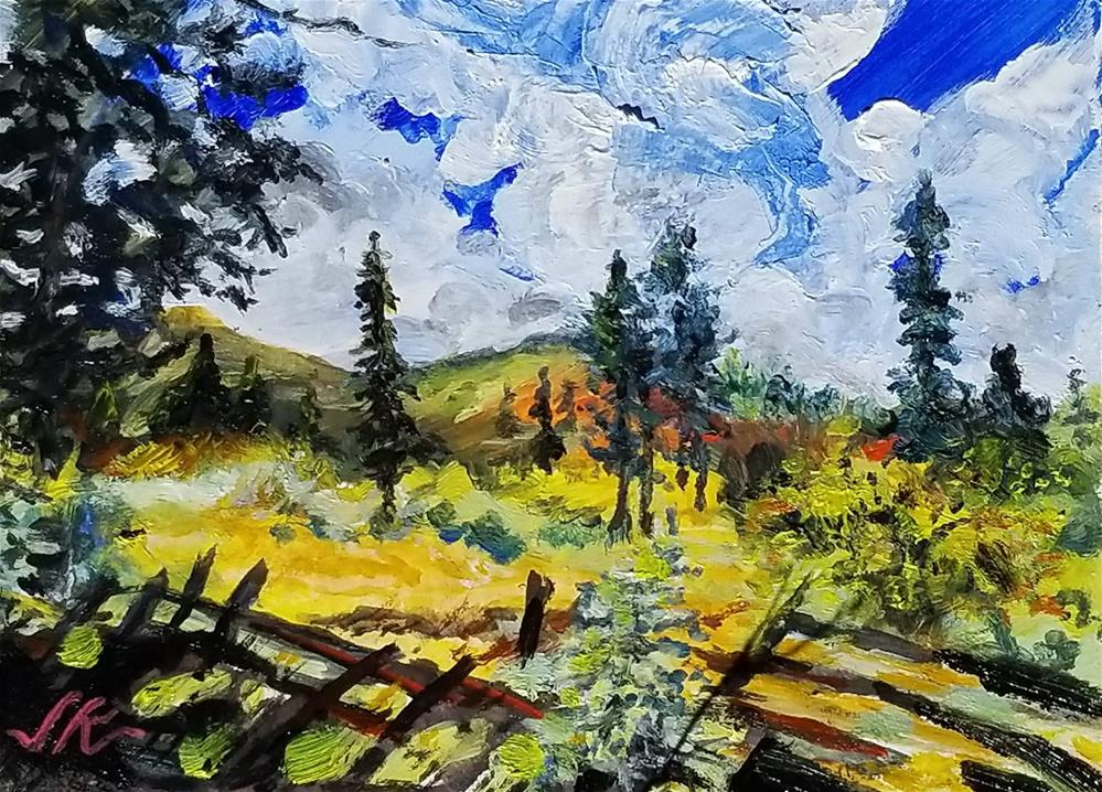 """Study for Plein Air"" original fine art by Jean Krueger"