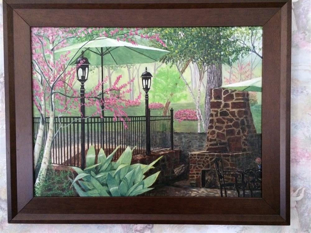 """Tyler Azalea District"" original fine art by Beau Crump"