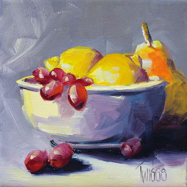 """""""Sweet & Tangy Breakfast"""" original fine art by Lori Twiggs"""