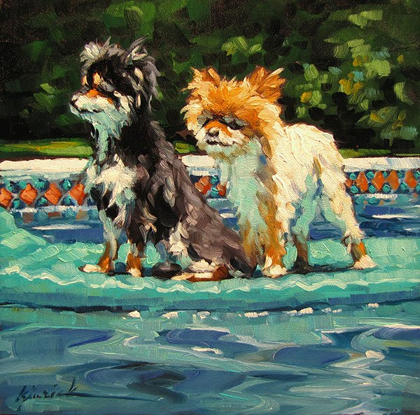"""Rafters"" original fine art by Karin Jurick"