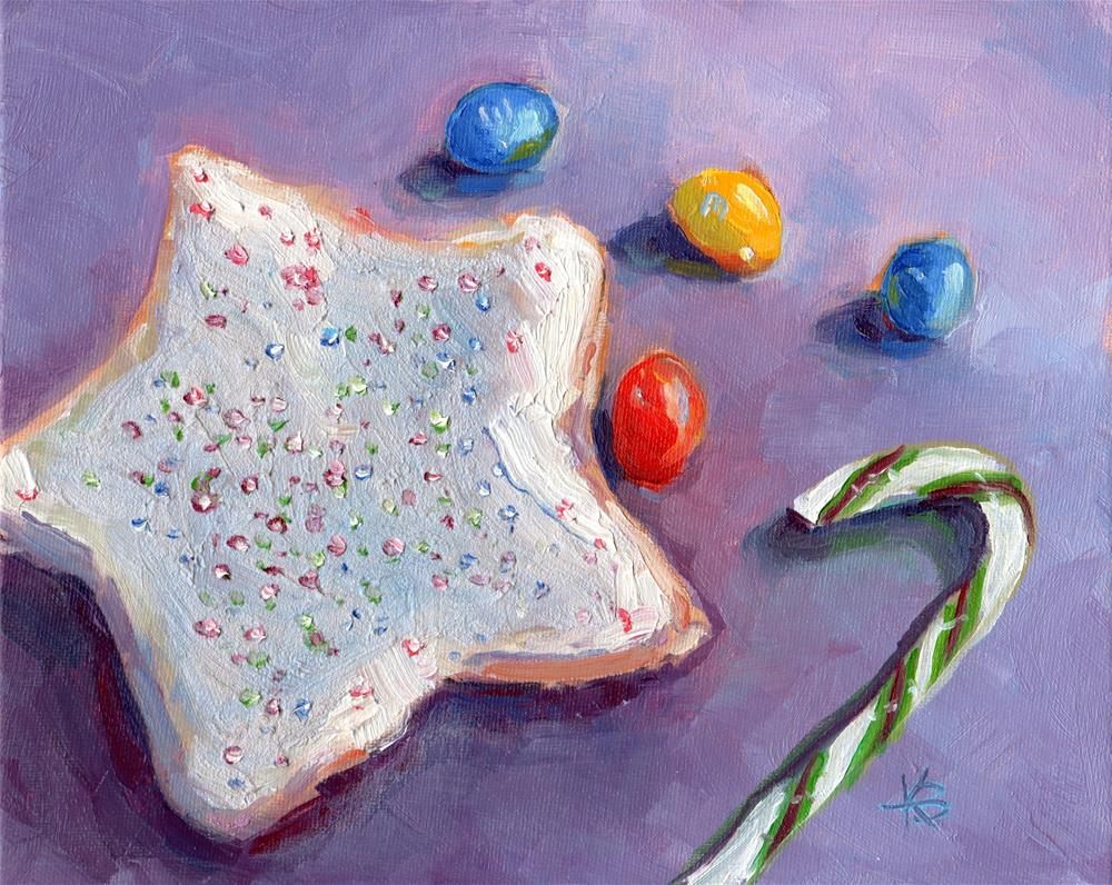 """Christmas!"" original fine art by Kathy Bodamer"