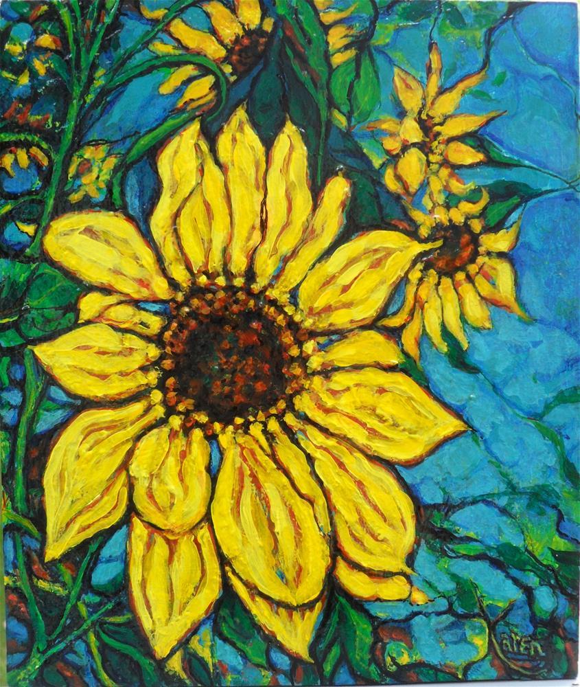 """Summer Gold"" original fine art by Karen Roncari"