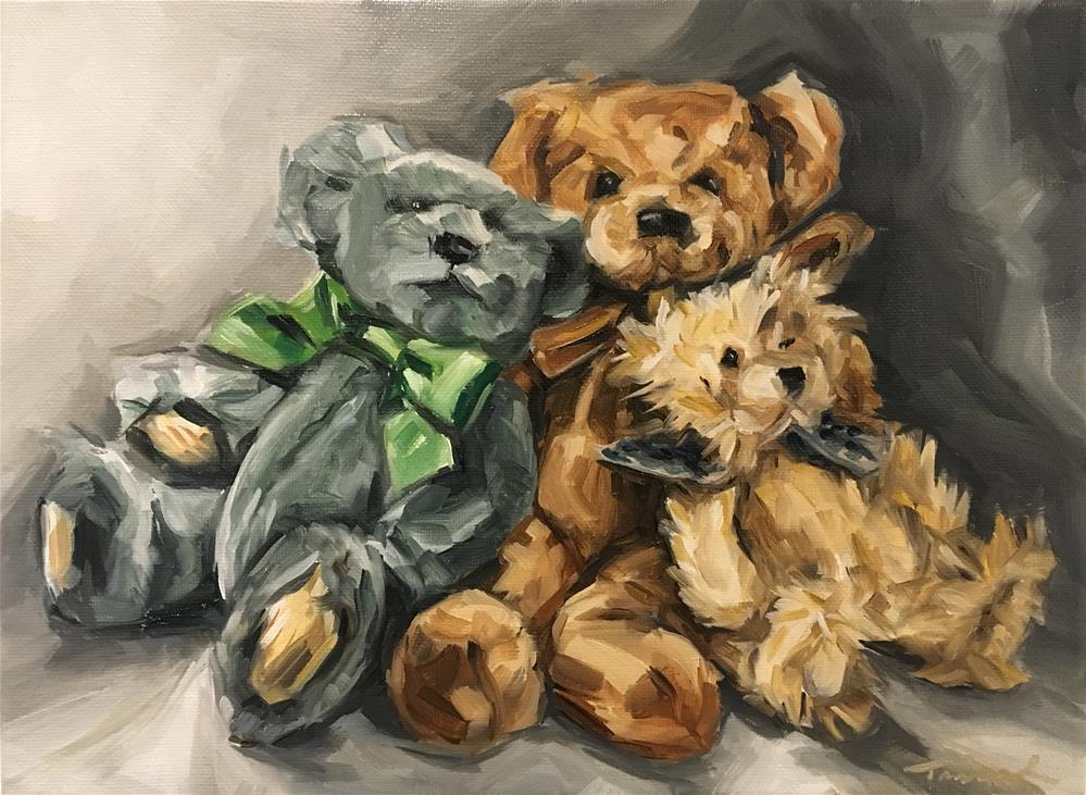 """Bundle of Bears (19-26)"" original fine art by Tamanda Elia"