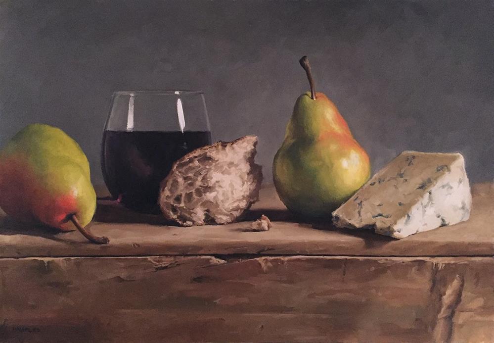 """In Good Company"" original fine art by Michael Naples"