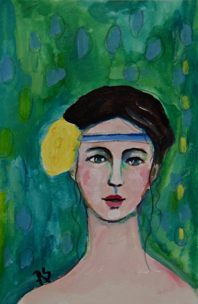 """Ophelia"" original fine art by Roberta Schmidt"