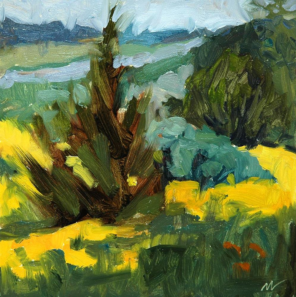 """Yellow Season!"" original fine art by Miriam Hill"