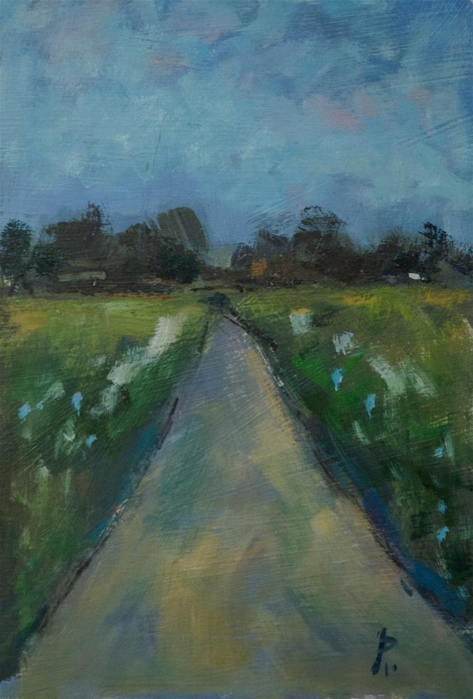 """""""Sussex Road"""" original fine art by Andre Pallat"""