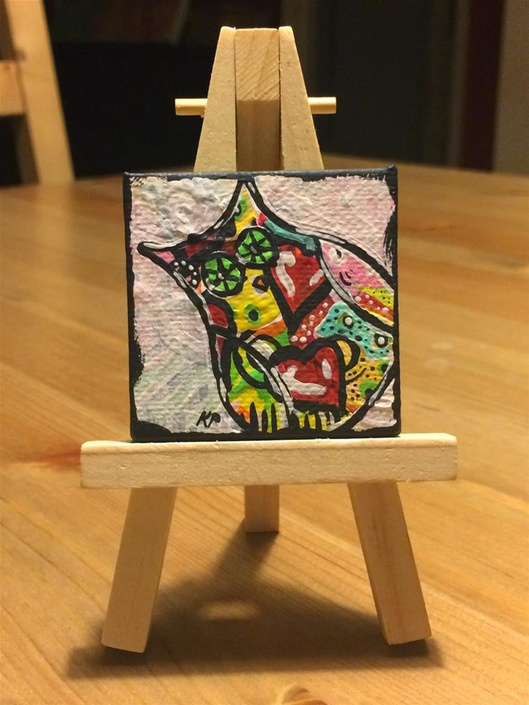 """Love and Wisdom"" original fine art by Kali Parsons"