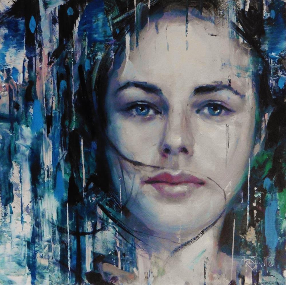 """Silence"" original fine art by Víctor Tristante"