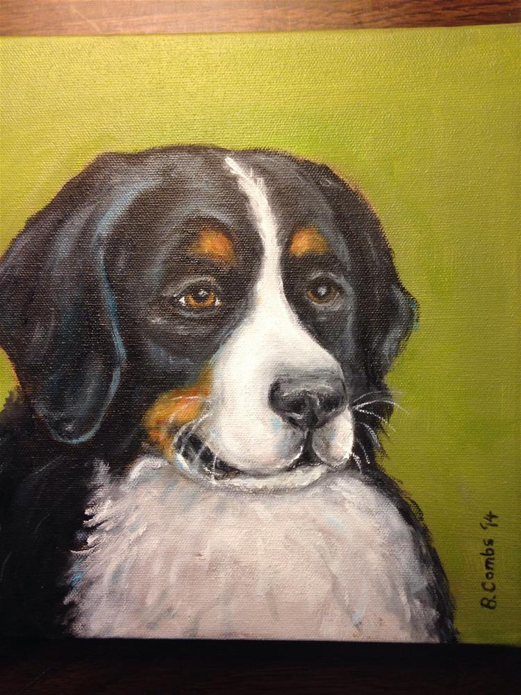 """Lola"" original fine art by Bebe Combs"