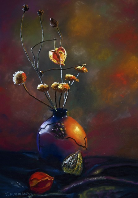 """Lanterns"" original fine art by James Humphreys"
