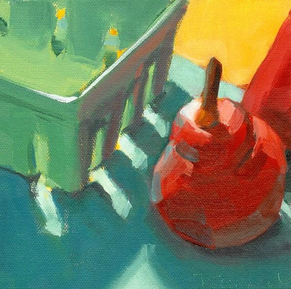 """Complement Me."" original fine art by Robin Rosenthal"