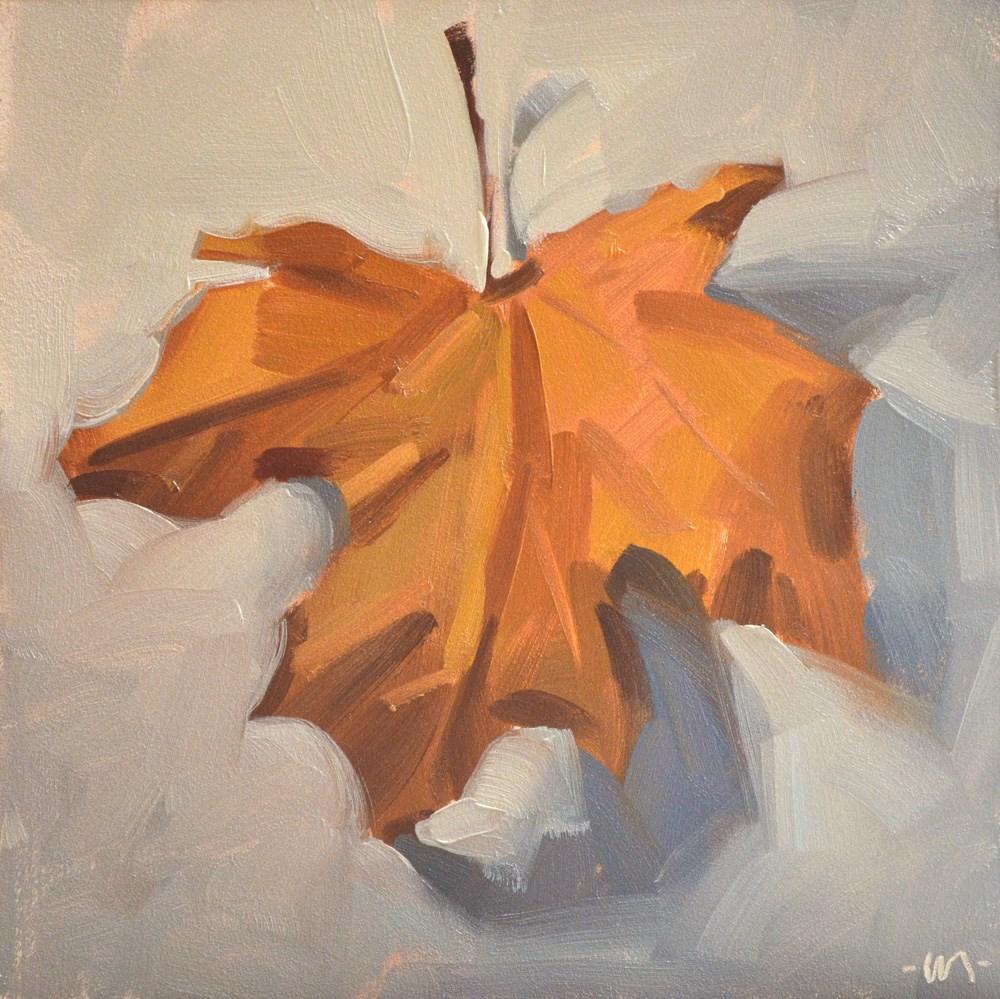 """""""Leaf Chief"""" original fine art by Carol Marine"""