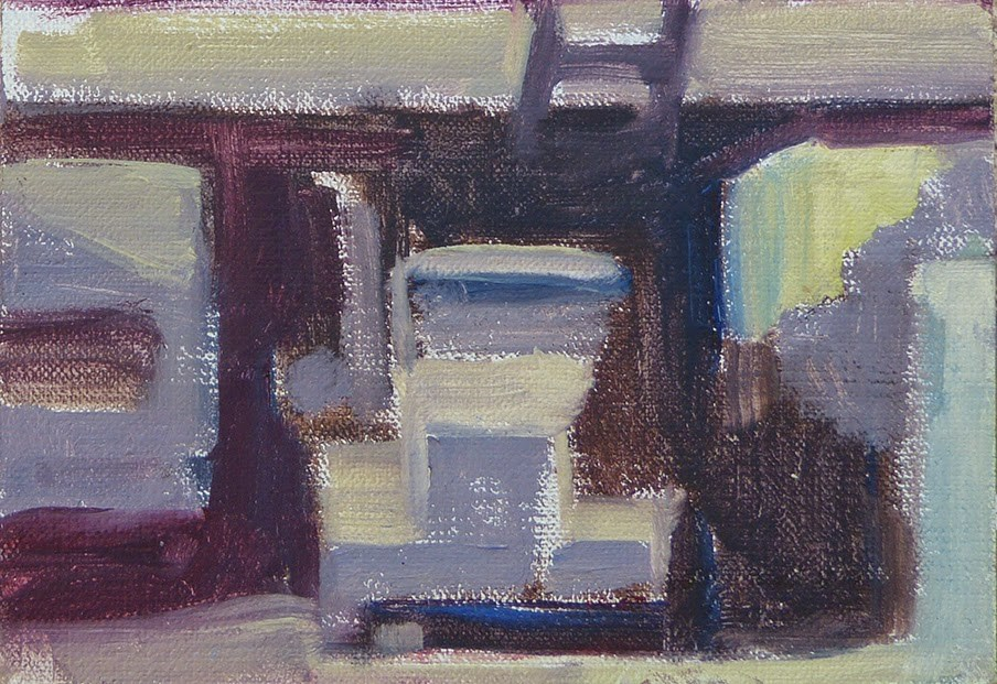 """""""Simplifying with William Wray"""" original fine art by Anette Power"""