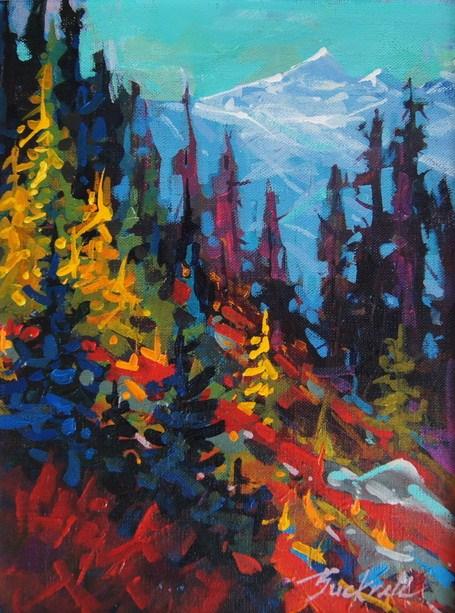 """""""Strathcona Sketch"""" original fine art by Brian Buckrell"""