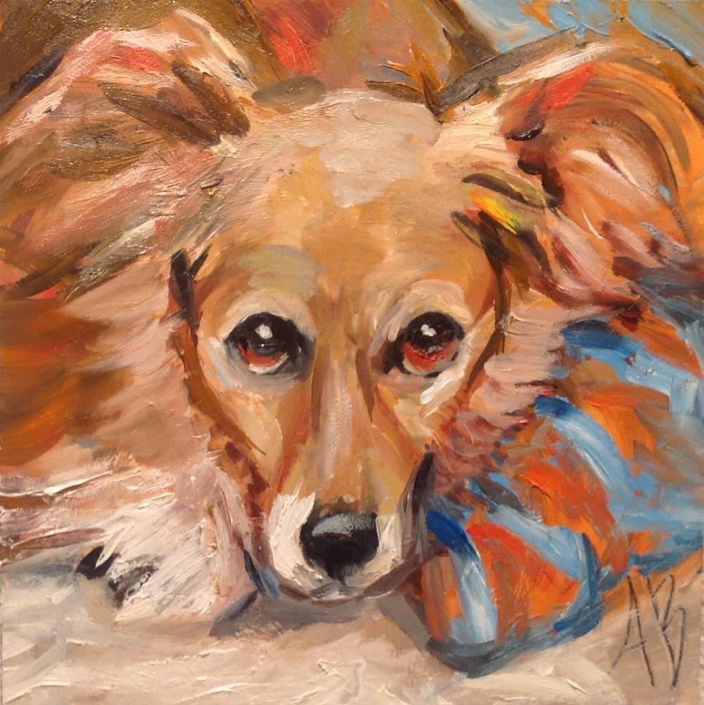 """Loving attention"" original fine art by Annette Balesteri"