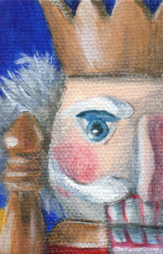 """Ornament 201203"" original fine art by Debbie Shirley"