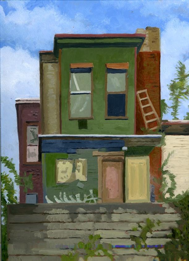 """""""FADING AWAY"""" original fine art by Nancy Herman"""