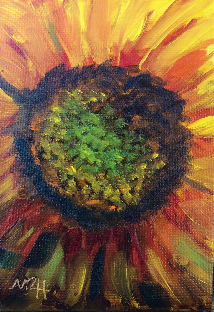 """Summer Center"" original fine art by Molly Rohrscheib Hathaway"