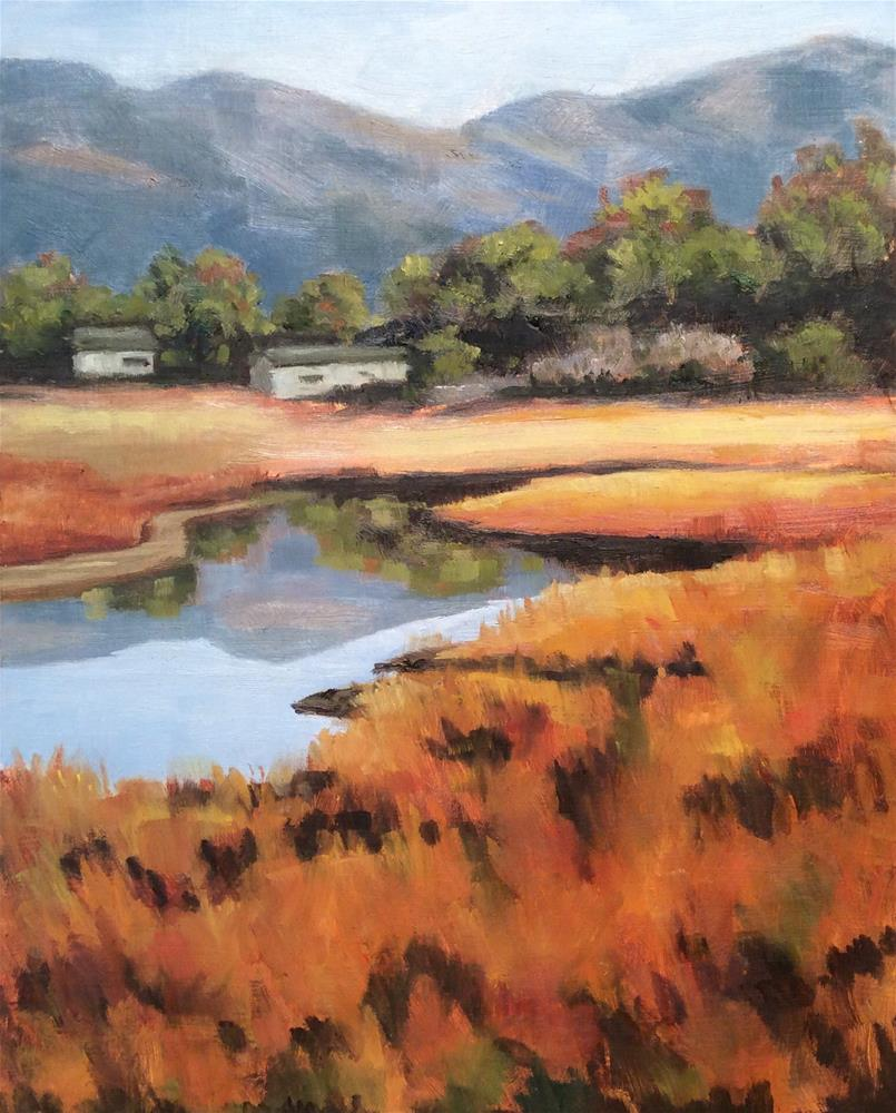 """Still Waters"" original fine art by wendy black"
