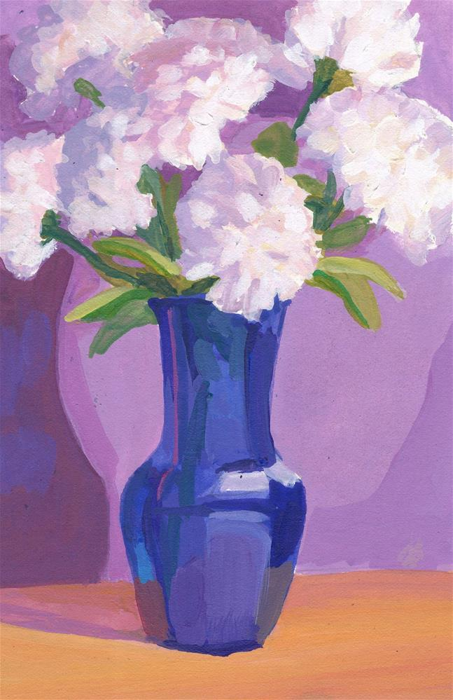 """Peonies"" original fine art by Mark Allison"