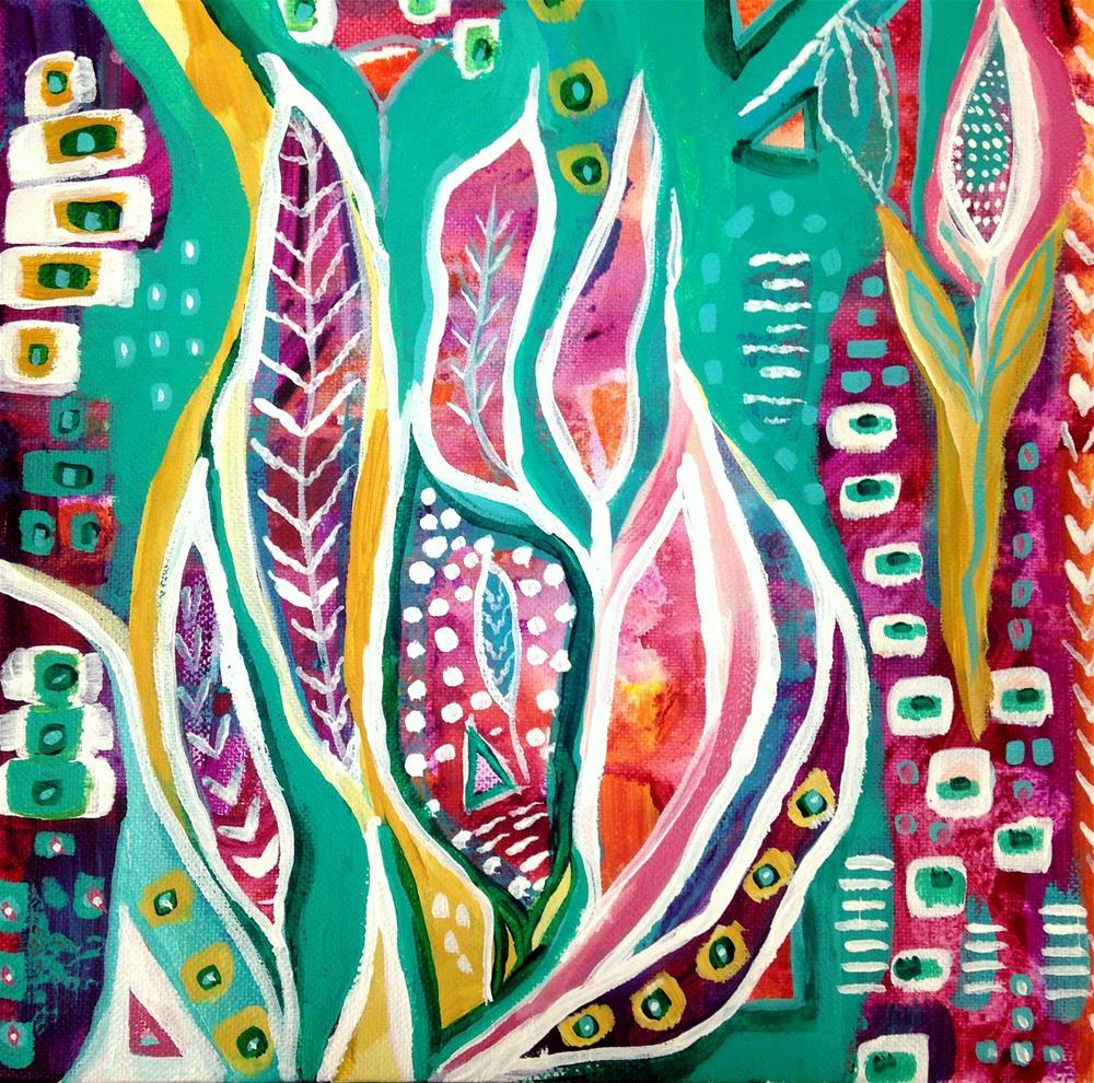 """Springspiration"" original fine art by Nicole Saunders"