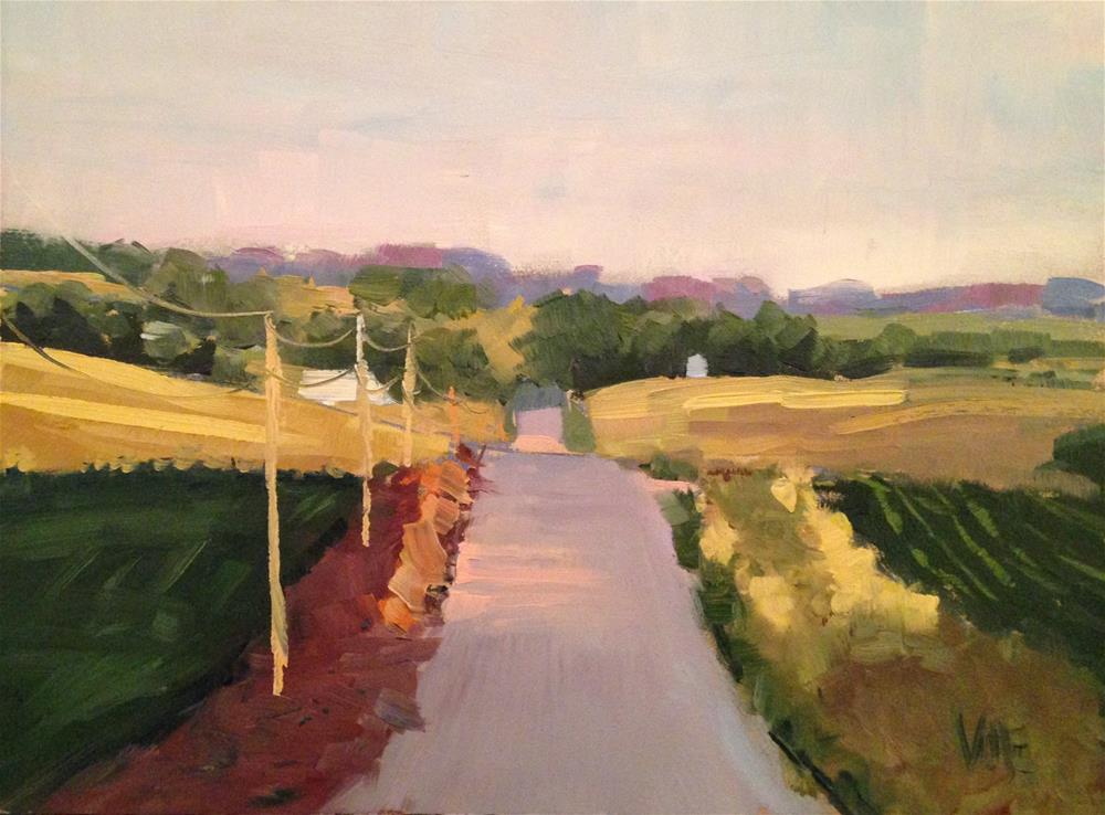 """""""#143 Heartland"""" original fine art by Patty Voje"""