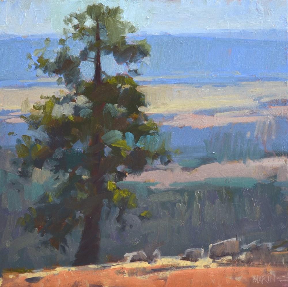 """Tree Sandwich"" original fine art by Carol Marine"