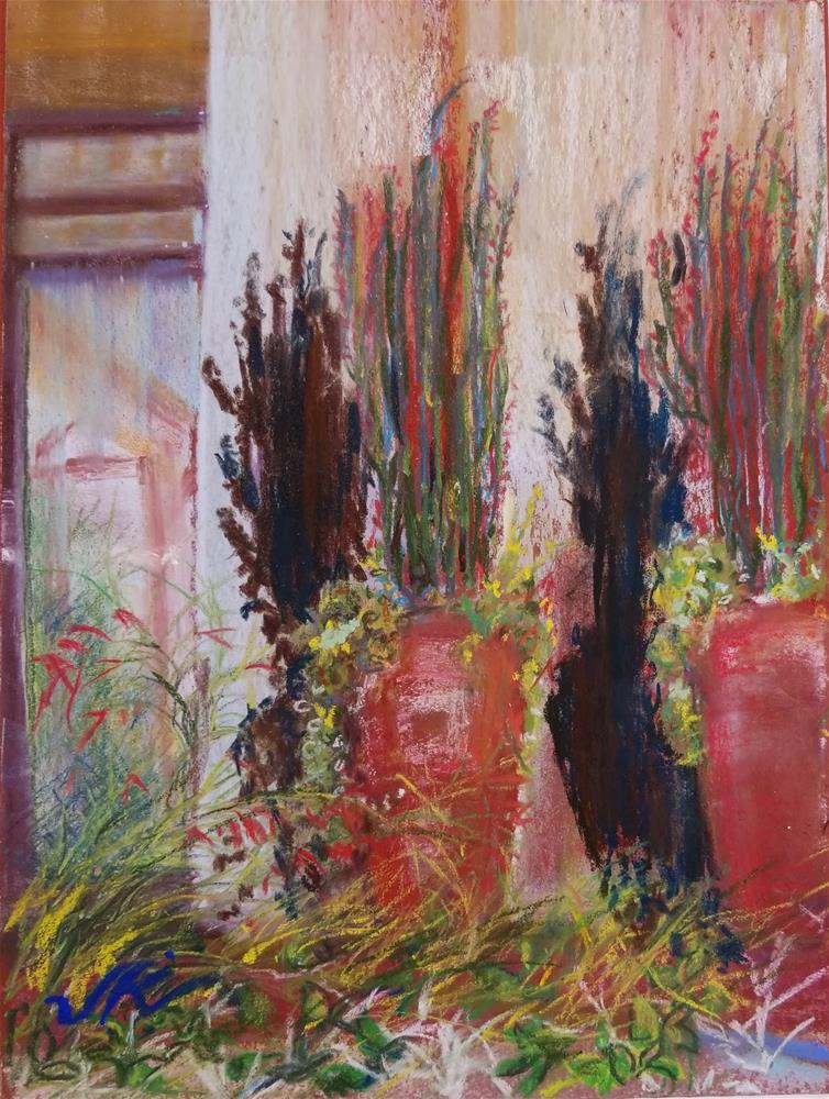 """Portico"" original fine art by Jean Krueger"