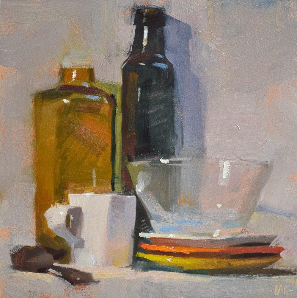 """Patience"" original fine art by Carol Marine"