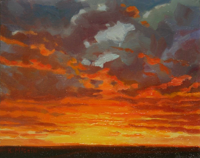 """Last Brilhance"" original fine art by K.R. McCain"