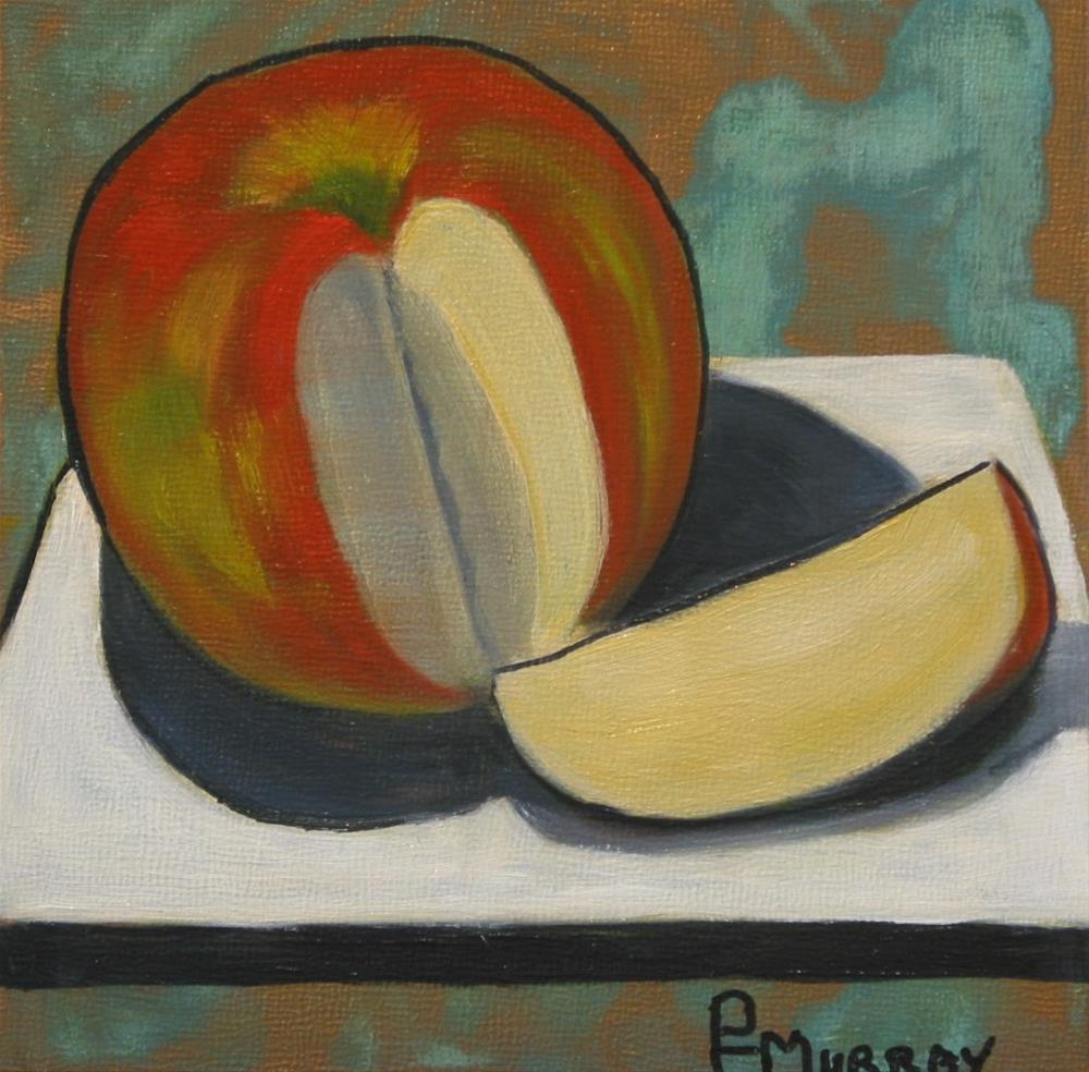 """""""An Apple a Day..."""" original fine art by Patricia Murray"""
