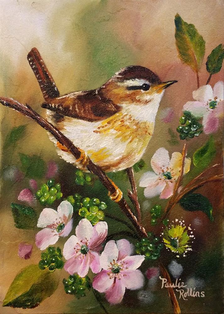 """New Berries 2"" original fine art by Paulie Rollins"