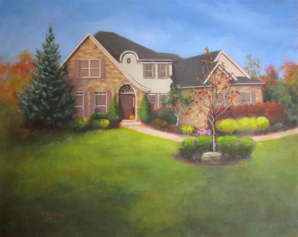 """Bo's House"" original fine art by Maresa Lilley"