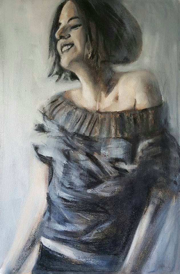 """""""Joie de Vivre"""" original fine art by Rentia Coetzee"""