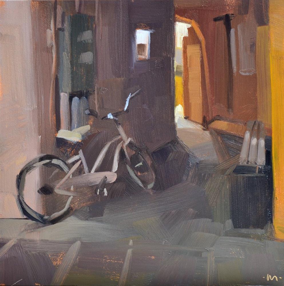"""""""Escape Door"""" original fine art by Carol Marine"""