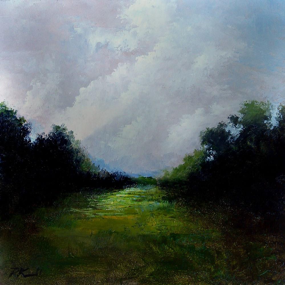 """Stormy Skies"" original fine art by Bob Kimball"