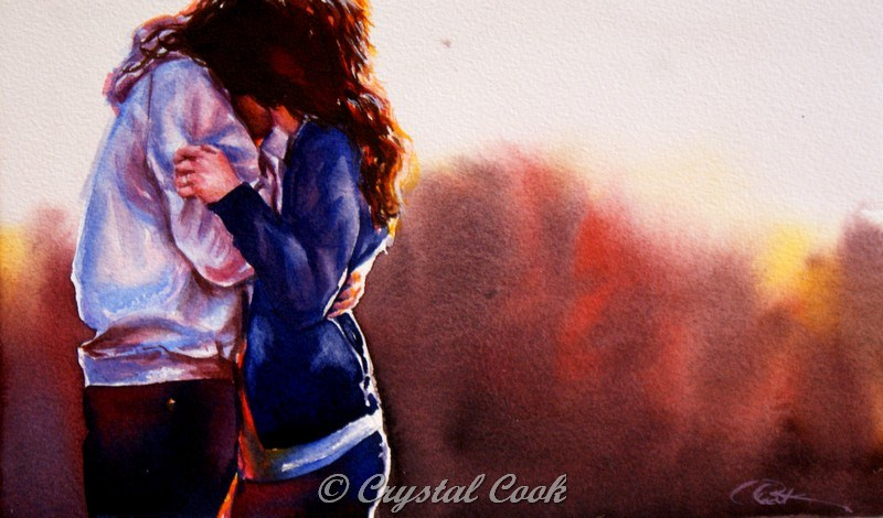 """Always"" original fine art by Crystal Cook"