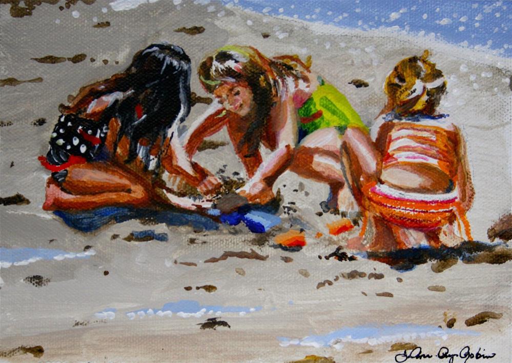 """Busy Work"" original fine art by JoAnne Perez Robinson"